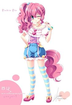 The fourth Character of 「MLP + moe anthropomorphism」 project : Pinkie Pie(PP). Attribute :Earth Pony、Party Queen、Always smil. [MLP]Pinkie Pie of moe anthropomorphism Mlp My Little Pony, My Little Pony Friendship, Little Poni, Mlp Pony, Princess Luna, Pinkie Pie, Rainbow Dash, Rainbow Rocks, Fluttershy