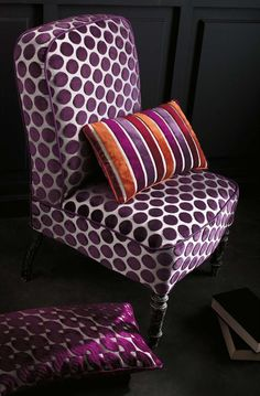 Brighton by Casamance. Available at James Brindley, www.jamesbrindley.com.