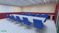 Diseñando iluminación de Calidad en escritorios y tableros de Centro Educativos, con Inversiones recuperables con los propios Ahorros generados - encolux.com
