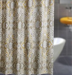 Welwo Shower Curtain X Long Extra Set Paisley Inches For Home Bathroom Decorative Bath Curtains
