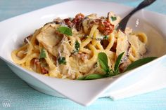 Hříbková omáčka se sušenými rajčaty Penne, Pasta, Kfc, Potato Salad, Macaroni And Cheese, Spaghetti, Food Porn, Food And Drink, Potatoes