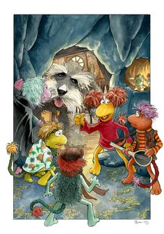 Fraggle Rock by DanielGovar on DeviantArt