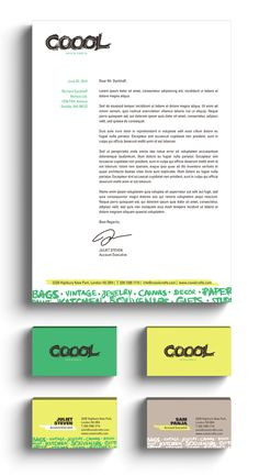 COOOL by 911 Designers, via Behance