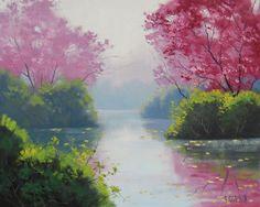 美到极致不忍观 Graham Gercken油画