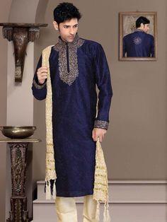 Pakistani Indian Designer Bollywood Festive Wear Kurta Pajama #BharatPlaza #KurtaPajama