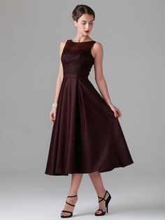 Lace Dress with Satin Skirt- Mother of the Bride dress