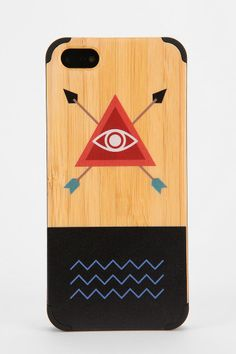 Painted Wood iPhone 5/5s Case