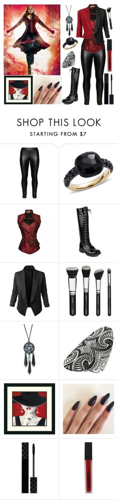 """Scarlet Witch;Comment Which Jacket You Like More"" by book-girl-4 ❤ liked on Polyvore featuring Studio, Pomellato, Mark & Maddux, LE3NO, Thomas Sabo, Gucci, Smashbox, Avengers, marvel and redandblack"