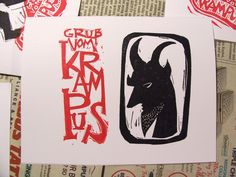 The Crafty Hag — oh krampus, my krampus… cards and other goodies...