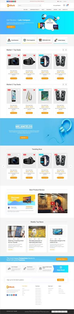 Blurb  Price Comparison Affiliate Website Multi Vendor Store And