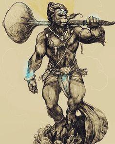 Hanuman Tattoo, Hanuman Chalisa, Hanuman Photos, Hanuman Images, Mahakal Shiva, Krishna, Lord Anjaneya, Black Pen Sketches, Lord Shiva Sketch