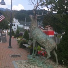 Downtown Banner Elk, NC....visited here alot with aunt and uncle