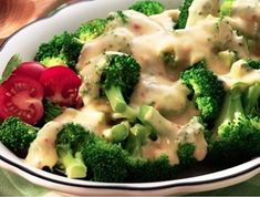 Opt for a healthier dinner with our broccoli cheese sauce. Cover broccoli with this delicious creamy cheese sauce made with our shredded nacho & taco cheese. Cheese Dishes, Cheese Recipes, Appetizer Recipes, Dinner Recipes, Dinner Ideas, Appetizers, Broccoli Recipes, Vegetable Recipes, Cheese Sauce For Broccoli