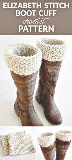 We have gathered a big list of crochet Projects  that will really inspire you to make crochet dog patterns with crocheting hooks.Elizabeth Stitch Crochet Boot Cuff