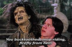 """Jones didn't like that, so he changed it, creating one of the film's most memorable moments. 
