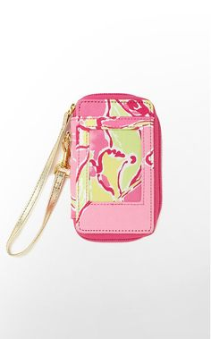 Carded ID Wristlet Sateen  Getting one of these when I get a new phone...smartphones don't fit in Vera wristlets ):