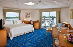 American Cruise Lines  Fadi  engineer sahib ka bed room