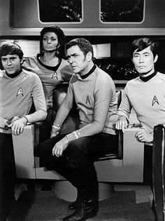 "Star Trek ""Crew on Bridge"""