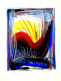Buy Sunrise 2 - große Gouache-Malerei und Ölkreide, Gouache painting by Volker Mayr on Artfinder. Discover thousands of other original paintings, prints, sculptures and photography from independent artists.