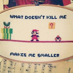 25 Perfect Cross-Stitches That Are Ridiculously Geeky