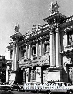 Foto ID: 140660 Fachada del Teatro Nacional de Caracas (José Humberto Cárdenas / Archivo El Nacional)