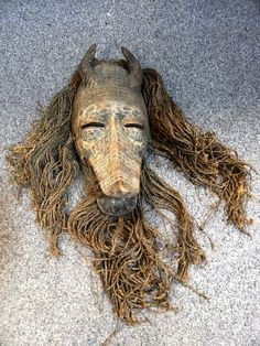 Early African Witch Doctors Mask this will be sold at no reserve 16th January west pier Suite Brighton Racecourse www.brightongeneralauctions.co.uk