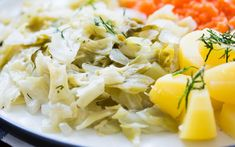 Polish Cabbage and Potatoes [Vegan]   One Green Planet