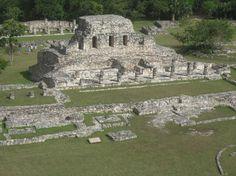 Mayan Ruins of Mayapan in Yucatan Mexico