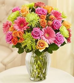 This #bouquet filled with bright blooms is the perfect #arrangement for your house this #summer