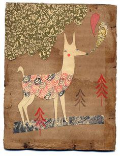 Llama print - Teresa Murfin