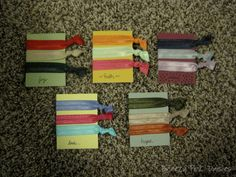 FOE DIY Hair Ties