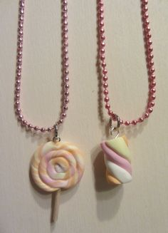 Handmade necklaces #fimo #polymer #clay http://craftsbycloud.weebly.com/