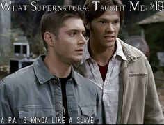 What Supernatural Taught Me 18