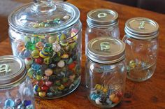 Family Night: Choosing Happiness. Earn a marble each day you: do a good deed,don't eat junk food that day, work on your personal goals, exercise, etc and win a prize when your jar is full. (pizza party, date with mom or dad, go to the movies etc) Great idea!