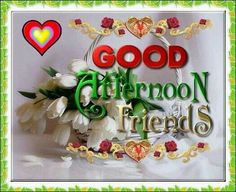 Good afternoon sister and all, wish you a relaxed aftenoon♥★♥.