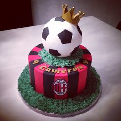 Soccer Ball Birthday Cake Melbourne
