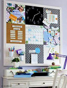 Creative Ideas to Decorate Your Home Office - Decoration and Fashion Office Workspace, Office Decor, Desk Inspiration, Ideas Para Organizar, Decoration, Decorating Your Home, Diy And Crafts, Diy Projects, Room Decor