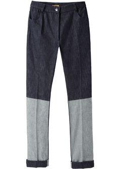 PETER JENSEN   High-Waisted Contrast Jean   Shop @ La Garçonne