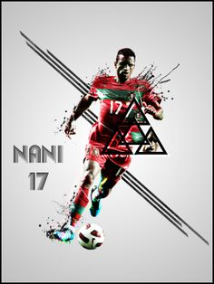 Football/Soccer Player Posters by Adam Akinyemi, via Behance  #soccer #poster