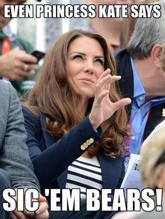 Kate can Sic'em!