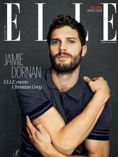 Jamie Dornan - Elle UK February 2015 Digital Cover