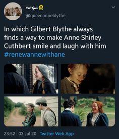 Anne Shirley, Gilbert And Anne, Gilbert Blythe, Anne With An E, Fandoms, Cuthbert, Kindred Spirits, Secret Life, Pll
