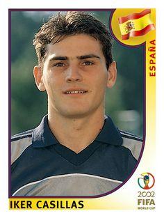 114 Iker Casillas - España - FIFA World Cup Korea/Japan 2002