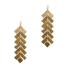 Aztec and western vibe, geometric earrings.