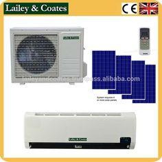48v DC New product 100% solar power split air conditioner for energy saving