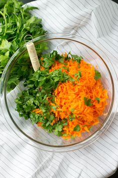 French Carrot Salad - Nourish and Fete