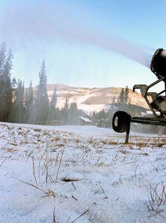 YES! Snowmaking has begun at Keystone, October 17, 2012. #winter #snow