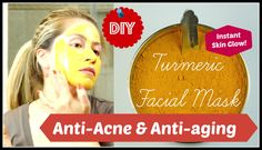 Acne Free Radiant Skin | DIY Turmeric Face Mask