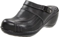 "Softwalk Women's Murrietta Clog SoftWalk. $77.02. leather. Flexible sole. Slip-on clog. Manmade sole. Memory foam midsole. Platform measures approximately 0.75"" . Heel measures approximately 2.75"". Non-marking outsole. Breathable leather lining"