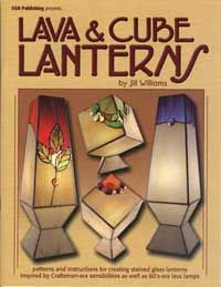 Lava and Cube lantern Books Free Patterns Nickates Stained Glass Supplies Inc.